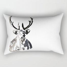 High arctic reindeer Rectangular Pillow