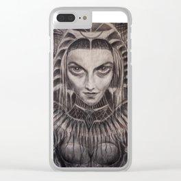 Reina del Inframudo - Underworld´s Queen Clear iPhone Case
