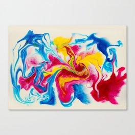 Blonde Elephant Canvas Print