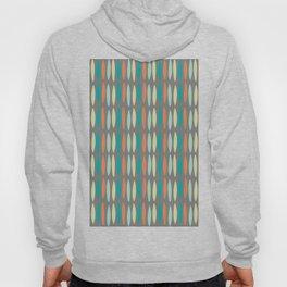 Contemporary Mid-Century Modern Geometric Pattern Hoody
