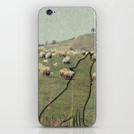 Shepherding wolf iPhone Skin