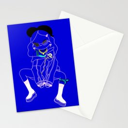 kawaii in the hood Stationery Cards