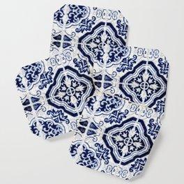 Azulejo VI - Portuguese hand painted tiles Coaster