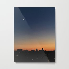 Summer Night Sky Metal Print