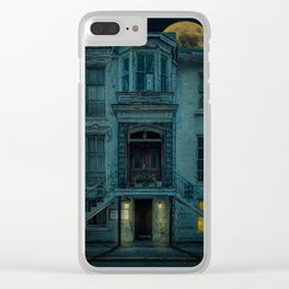 Not Home - Come Back Later Clear iPhone Case