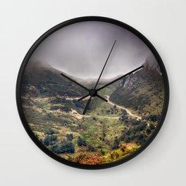 Peaks of Europe 2 Wall Clock