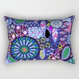 Tribal Patchwork Rectangular Pillow