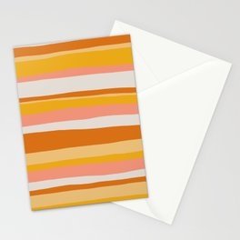 sedona, desert stripes Stationery Cards