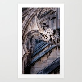 Repetition of Ornate Detail  Art Print