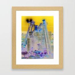 Cement Plant Framed Art Print