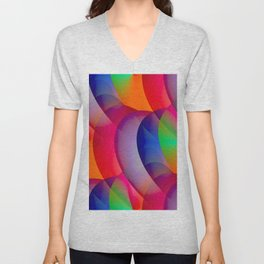 a seamless pattern for you -03- Unisex V-Neck