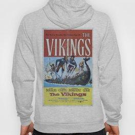 Vintage Classic Movie Posters, The Vikings Hoody