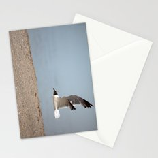 Laughing Gull in Flight Stationery Cards