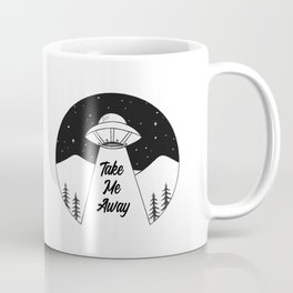 'Take Me Away' UFO Coffee Mug