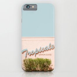 Tropicale Lounge – Retro Palm Springs Photography, Midcentury  iPhone Case