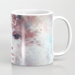 Girl face painting ART Coffee Mug