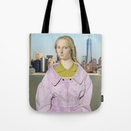 QUEEN OF THE CITY Tote Bag