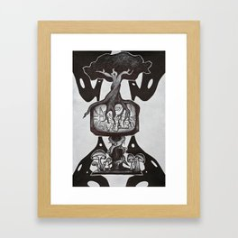 Nature Prevails Framed Art Print