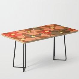 Poinsettia Love Coffee Table