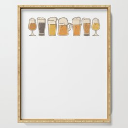 Craft Beer Art I'm Crafty Home Brew Beer Vintage Serving Tray