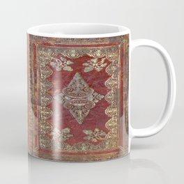 Tarnished Brass Book Cover Coffee Mug