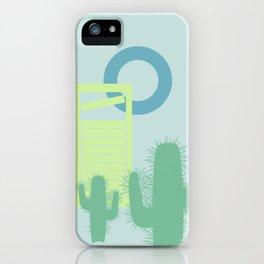 Desert landscape iPhone Case