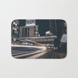 Blue / Shibuya Traffic Bath Mat
