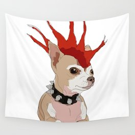 Bad Ass Chihuahua Wall Tapestry