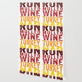 Run Mulled Wine Turkey Nap product Thanksgiving Turkey Trot Wallpaper