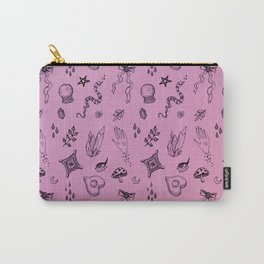 Spoopy Pattern Carry-All Pouch
