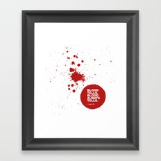 Dexter no.6 Framed Art Print
