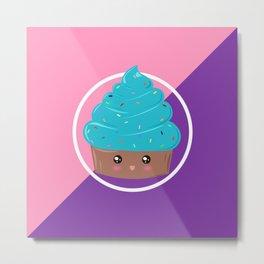 Cupcake Cutie Metal Print