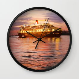 Love boat Wall Clock