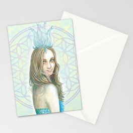 Her Invisible Crown Stationery Cards