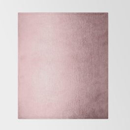 Simply Rose Quartz Elegance Throw Blanket
