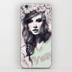 Barbara iPhone & iPod Skin