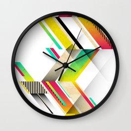 Retro Geo Wall Clock
