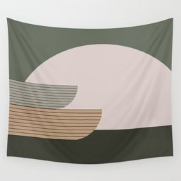 Abstract Composition 16 Wall Tapestry