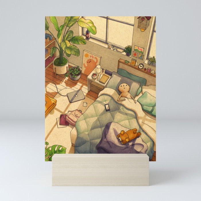 Afternoon Nap Mini Art Print