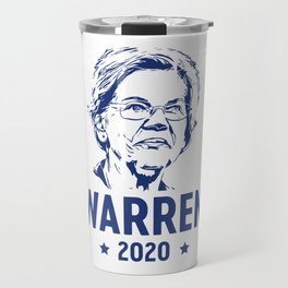 Warren 2020 for President Travel Mug