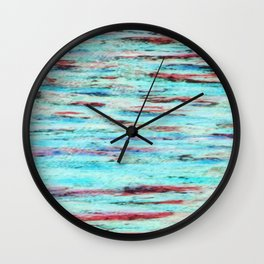 Color gradient and texture 33 Wall Clock