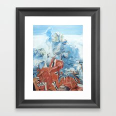 Dancing with time Framed Art Print