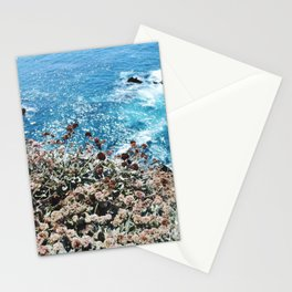 Flowers on a Cliff Stationery Cards