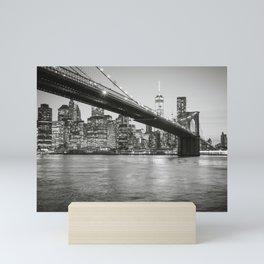 After Sunset in Brooklyn Mini Art Print
