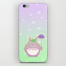 TotoroFan art  iPhone & iPod Skin