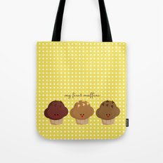 my first muffins Tote Bag