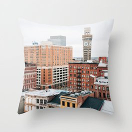Westside, Baltimore 01 Throw Pillow