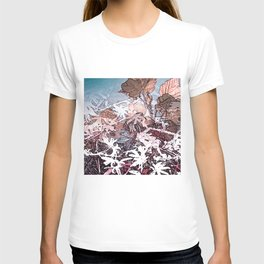 Frosty Transformation to Winter - An abstracted impression T-shirt