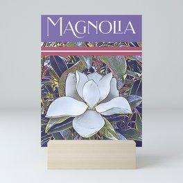 Southern Magnolia Flower Mini Art Print
