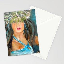 Hula Blues Stationery Cards